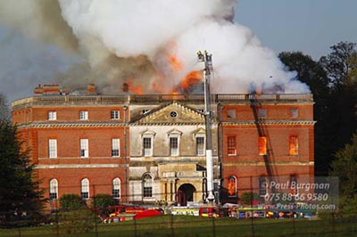 Clandon House Fire